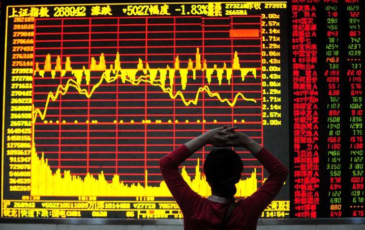 Chinesische Aktienkurse: Wohin mit all dem Anlegergeld?