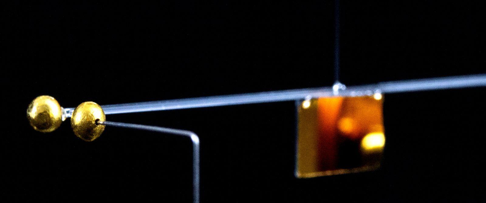 kleinste jemals gemessene Gravitationskraft