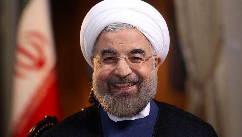 """Irans Präsident Rohani: """"Wir müssen einander die Hände reichen"""""""