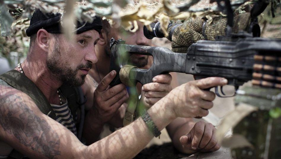 Soldat Olexij des Donbass-Bataillons