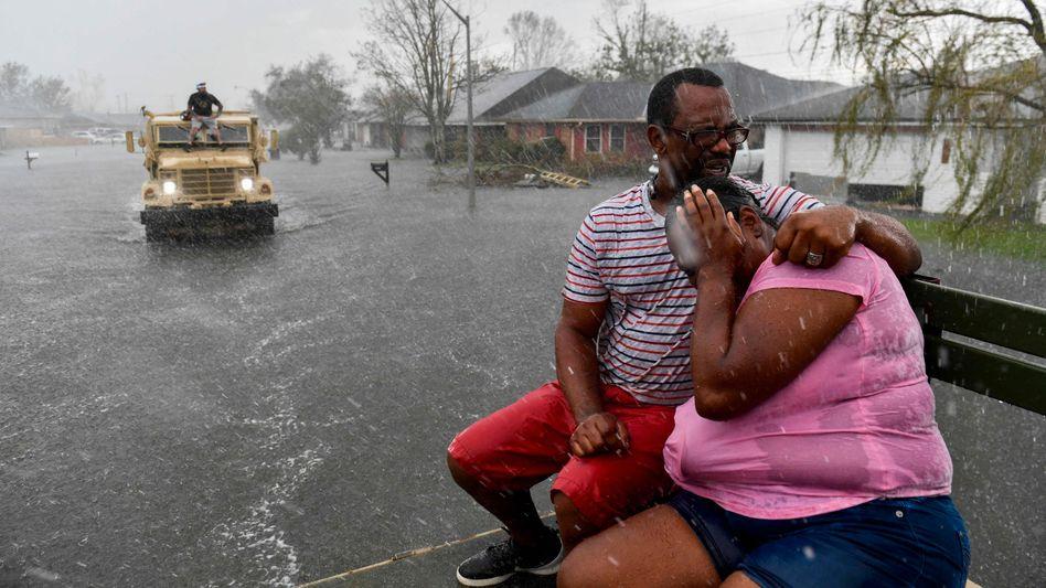 Betroffene in LaPlace, Louisiana: Chaotische Zustände