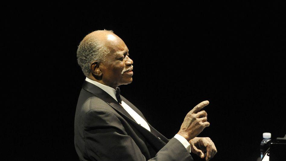 Auch mit 90 Jahren noch auf der Bühne: Jones bei einem Jazzfestival in Spanien 2009