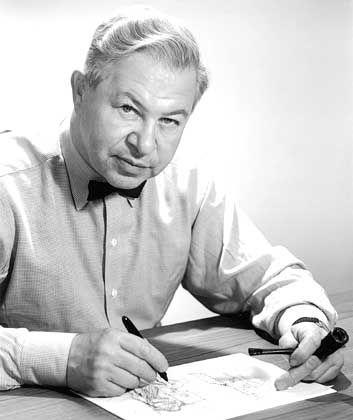 """Designer Jacobsen (1902-1971): """"Ich ersticke an Ästhetik"""""""