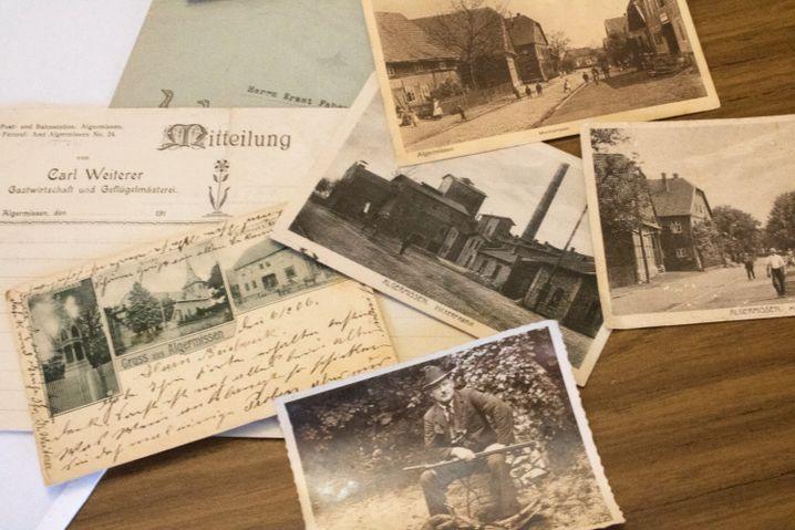 Postkarten und Fotos zeigen, wie sich das Gasthaus verändert hat