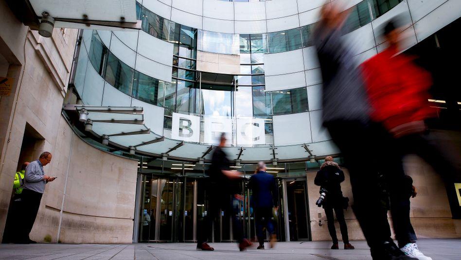 Die BBC will 450 Stellen abbauen