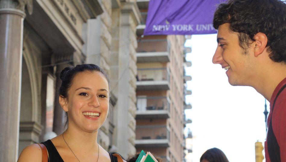 Studentin Jordana: Sie studiert Filmwissenschaften und mag Fassbinder