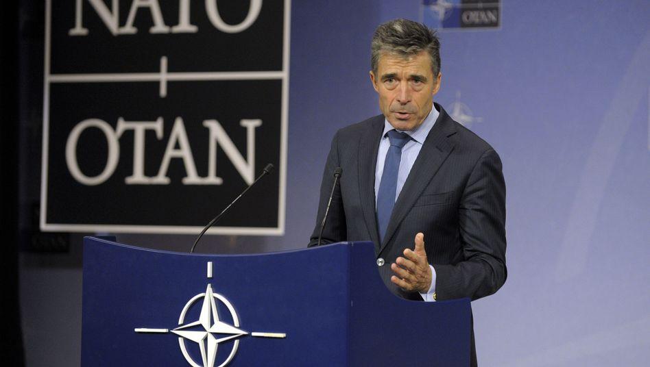 """Nato-Chef Rasmussen: """"Sehr konkrete Kooperation"""" mit Ukraine geplant"""