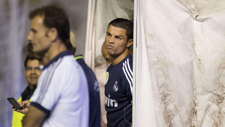 Real-Star Ronaldo (im Stadion von Vallecano): Spiel auf Montag verschoben