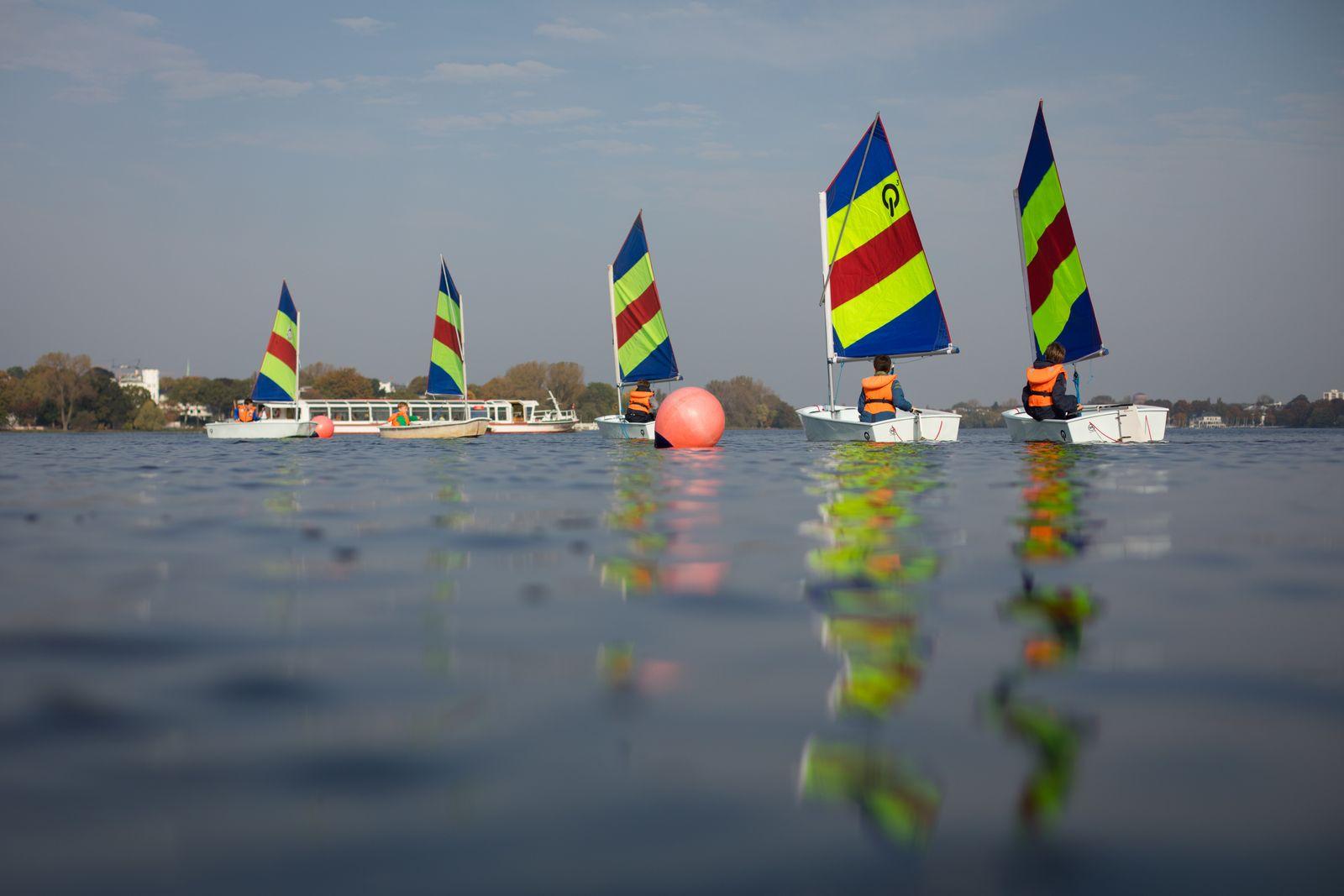 Optimist/ Segelboot