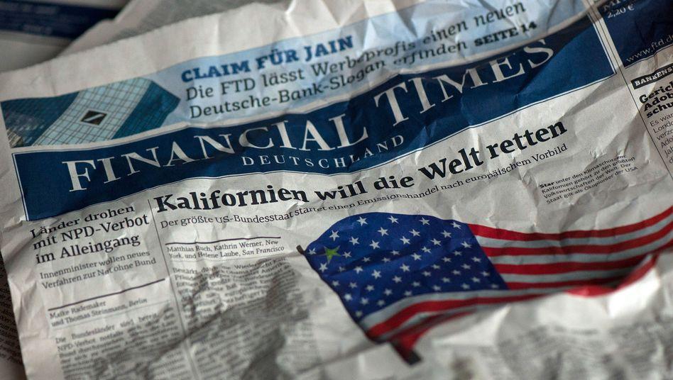 """""""Financial Times Deutschland"""": Das Blatt wird eingestellt, das wissen längst alle"""