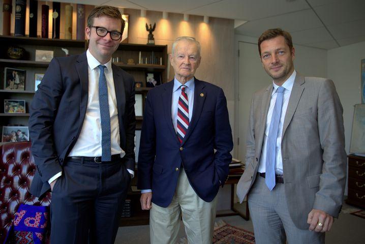 Brzezinski, Korrespondenten Fischer und Stark