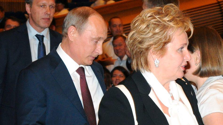 Russischer Präsident: Putin und Ehefrau Ljudmila trennen sich