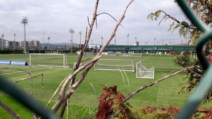 Trainingsgelände des Barcelona