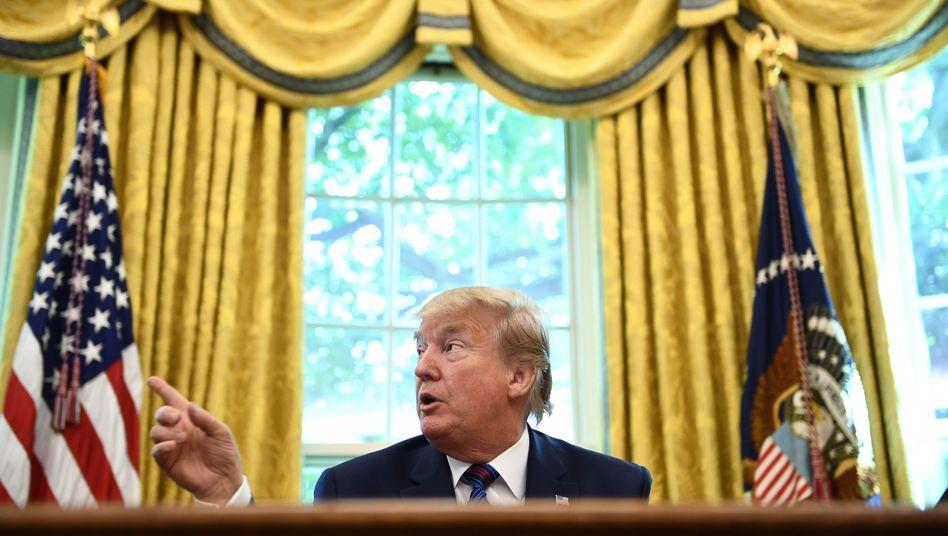 """Donald Trump: Jede Menge Aufregung über """"Ratten""""-Äußerung des Präsidenten"""