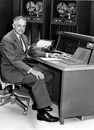IBM-Chef Thomas J. Watson Jr. (1956): Wusste nichts von der Enkelin