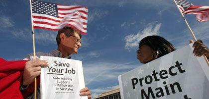 GM-Mitarbeiter in Dallas: Gewerkschaft macht Zugeständnisse im Milliarden-Umfang