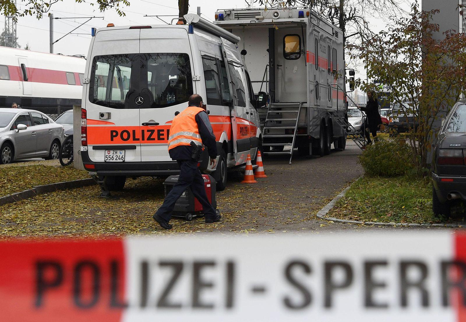 Switzerland Mosque Raid
