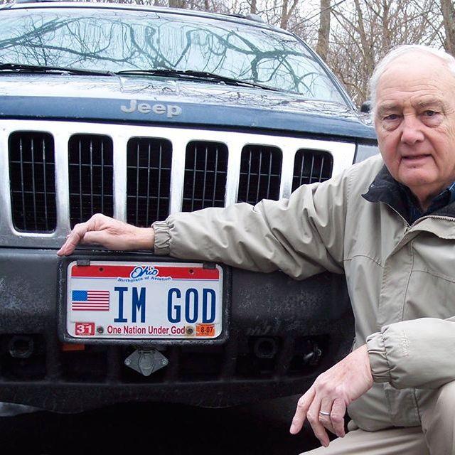 """""""Ich bin Gott"""": Verwehrtes Wunschkennzeichen kostet US-Bundesstaat 150.000 Dollar"""