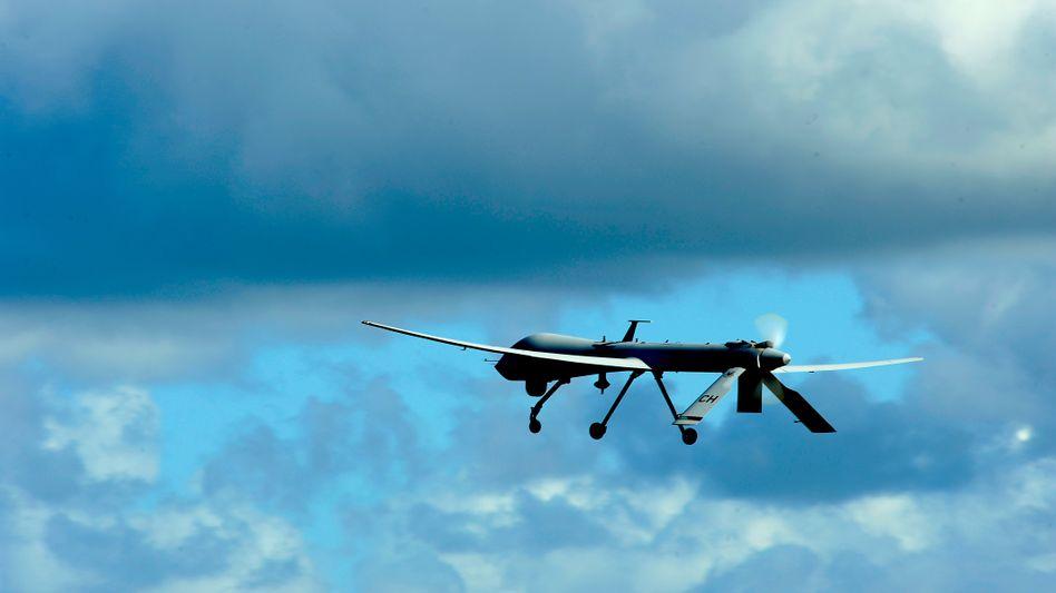 Drohne vom Typ RQ-1 Predator: Über Deutschland abgewickelt