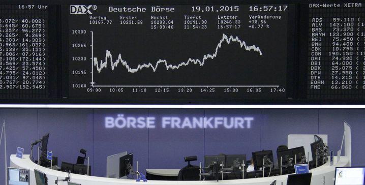 """Frankfurter Börse: """"Abwarten, ob sich eine Blase entwickelt"""""""