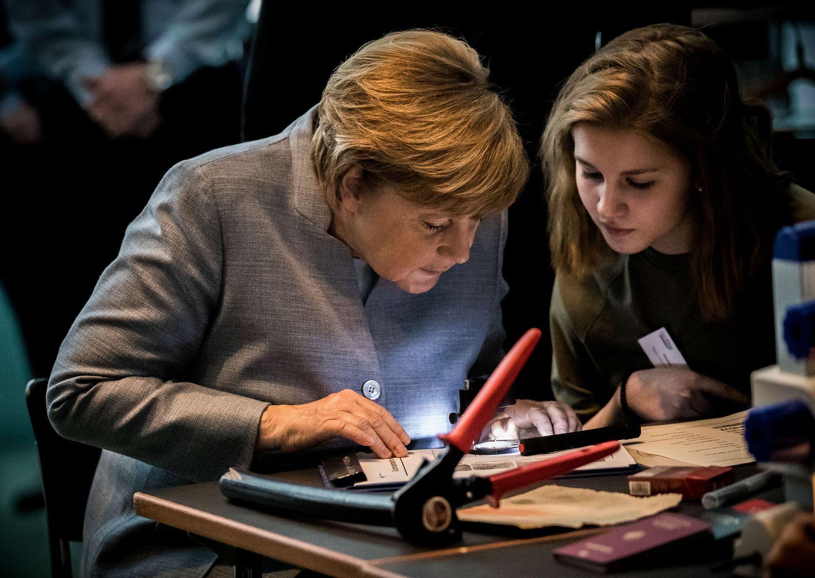 Angela Merkel Girls Day
