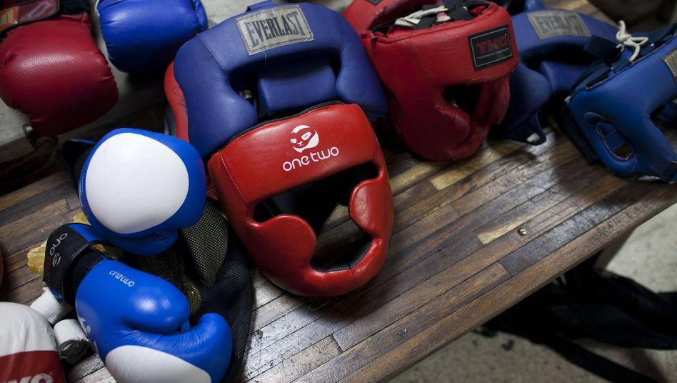 Boxer-Ausrüstung: 6,7 Millionen Euro für zwei Goldmedaillen