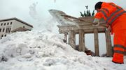 Der Tag im Zeichen des Wintersturms