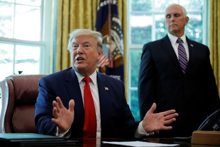 US-Präsident Trump: Verschärfung der Sanktionen gegen Iran