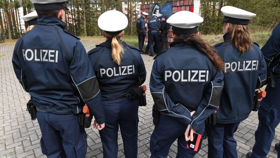 Auszubildende für den Polizeidienst