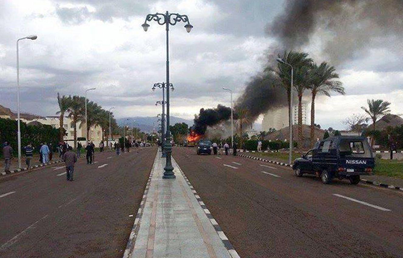 Sinai/ Ägypten/ Touristenbus Bombenanschlag
