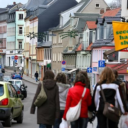 The town of Mittweida, where the girl alleges the attack took place.