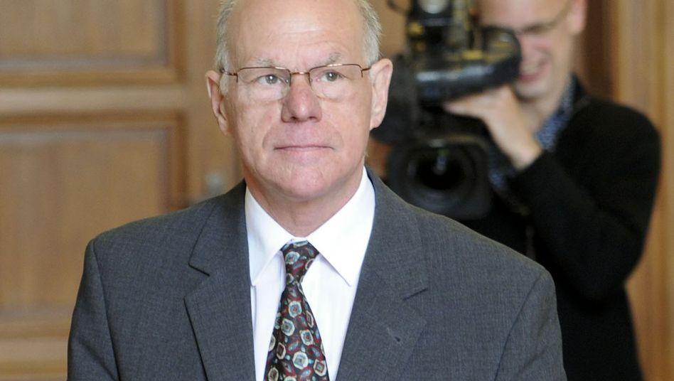 Bundestagspräsident Norbert Lammert: Letztmöglicher Termin