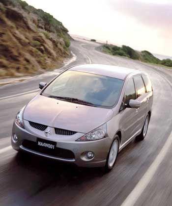 Erst im nächsten Jahr auf dem europäischen Markt: Mitsubishi Grandis