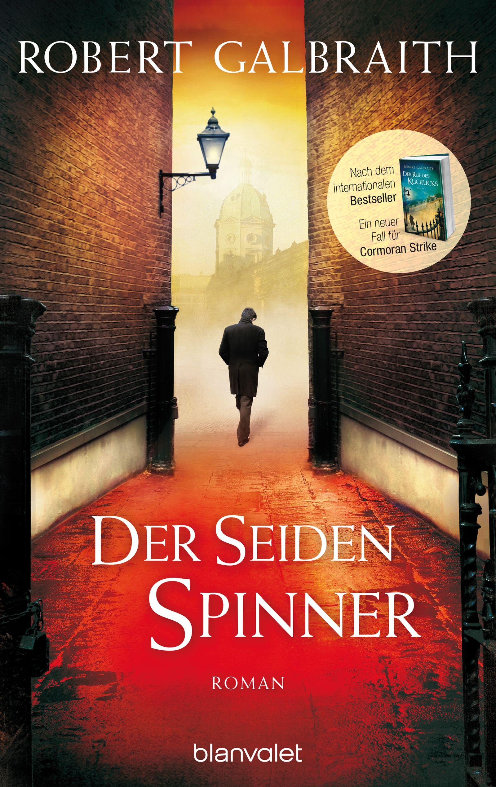 Buch/ Robert Galbraith J.K. Rowling: Der Seidenspinner COVER