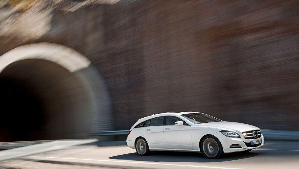 Vorstellung Mercedes CLS Shooting Brake: Stil und Raum