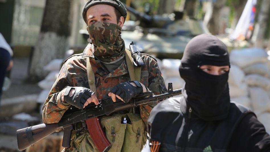 """Prorussische Separatisten: Kann sich die Krise """"ohne Absicht"""" verschärfen?"""
