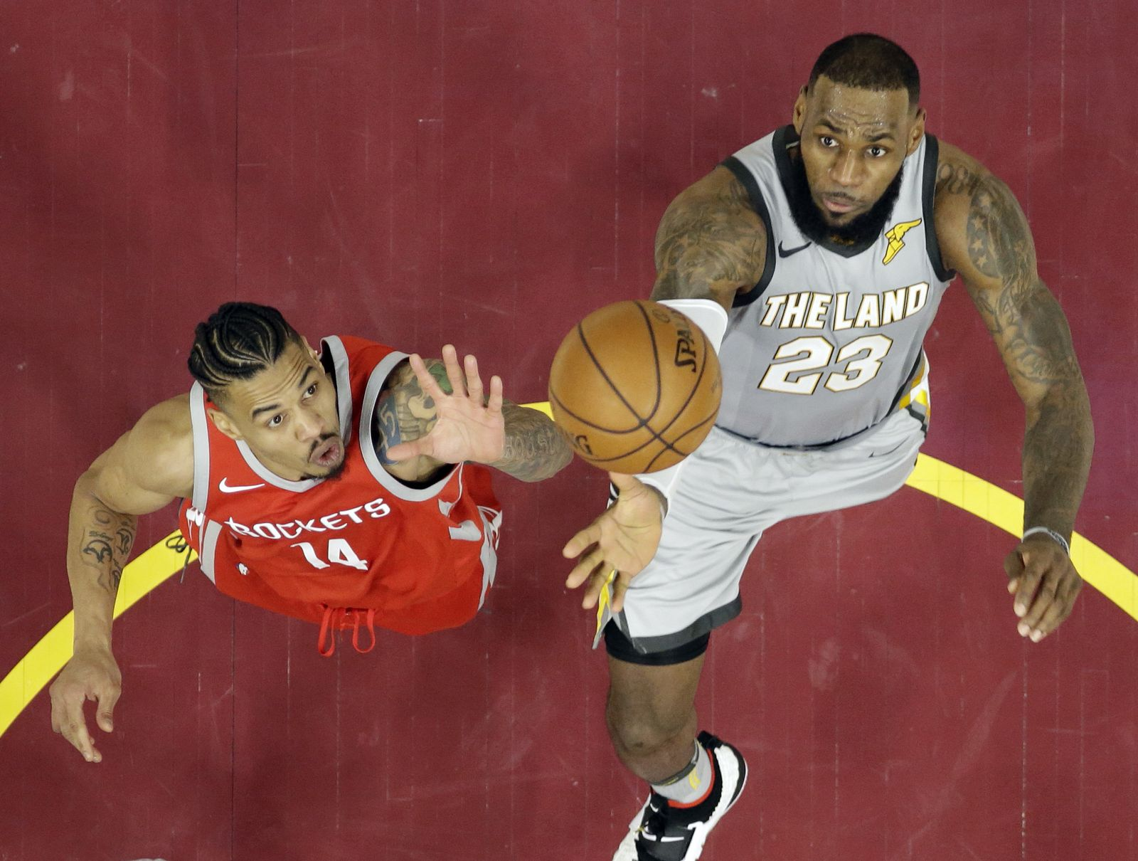 Rockets Cavaliers Basketball