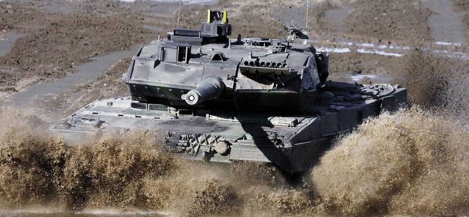 Kampfpanzer »Leopard 2«