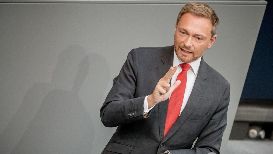 FDP-Politiker Christian Lindner