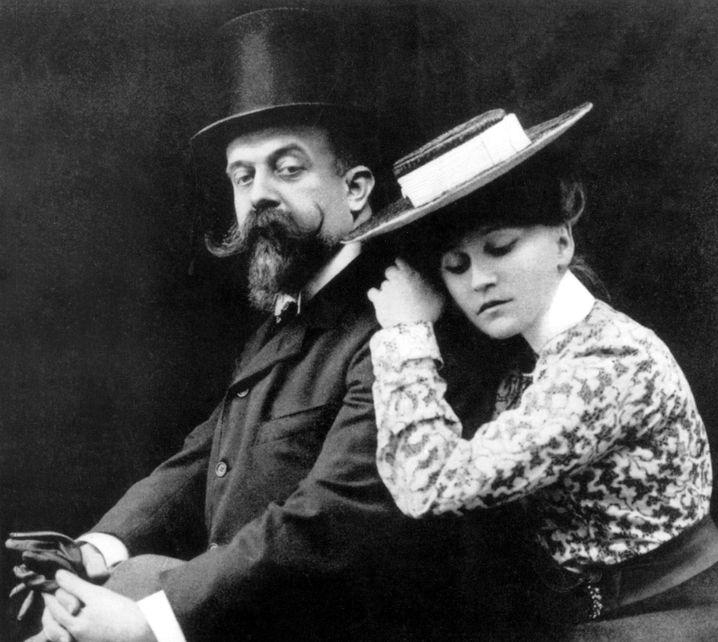 Zeitweise dieselbe Geliebte geteilt: Willy und Colette (1902)