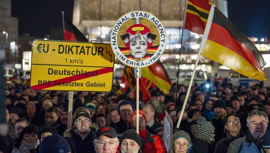 Fremdenfeindliche Demonstration in Leipzig: Die gesamte Gesellschaft ist betroffen