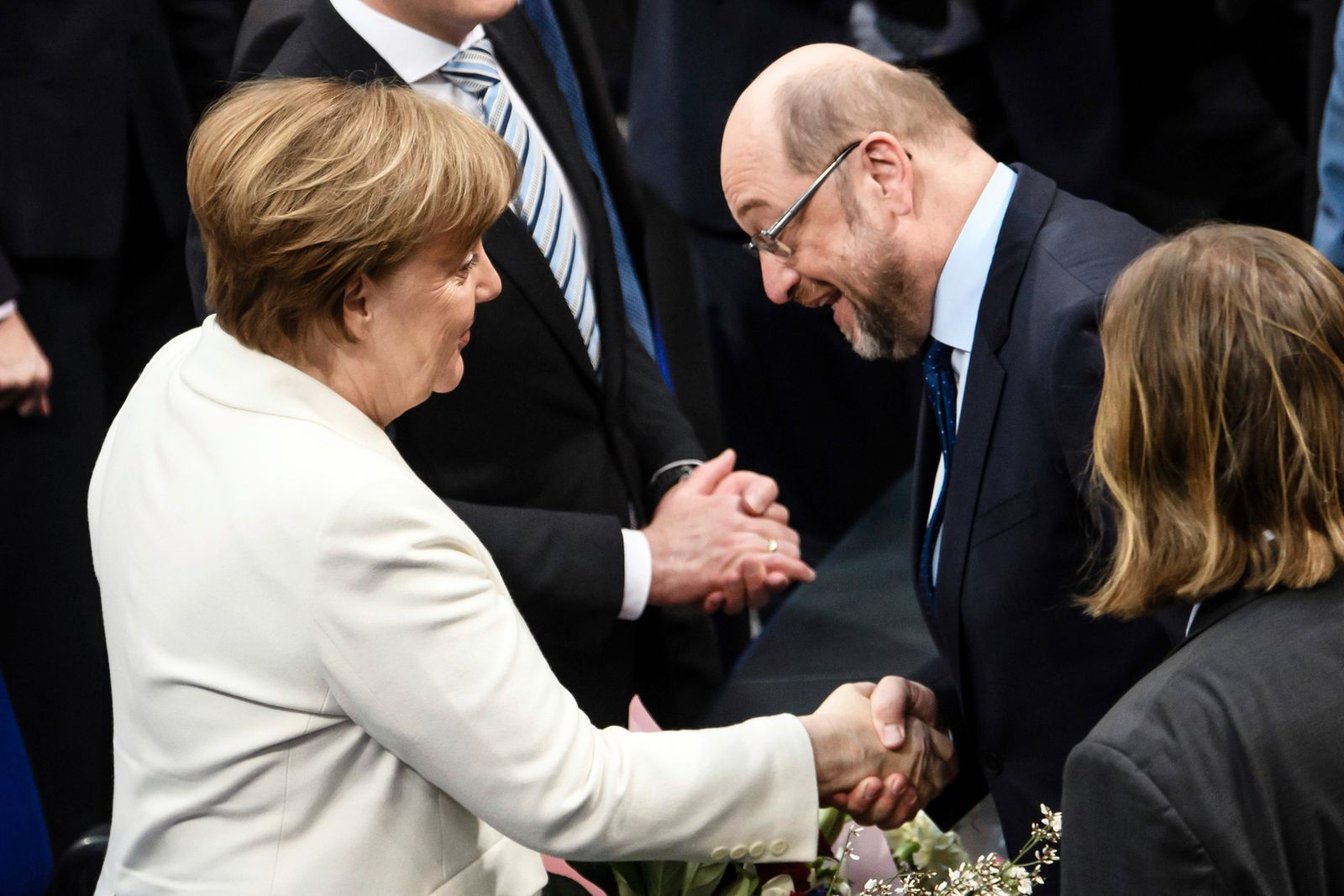 Election of German Federal Chancellor in Berlin