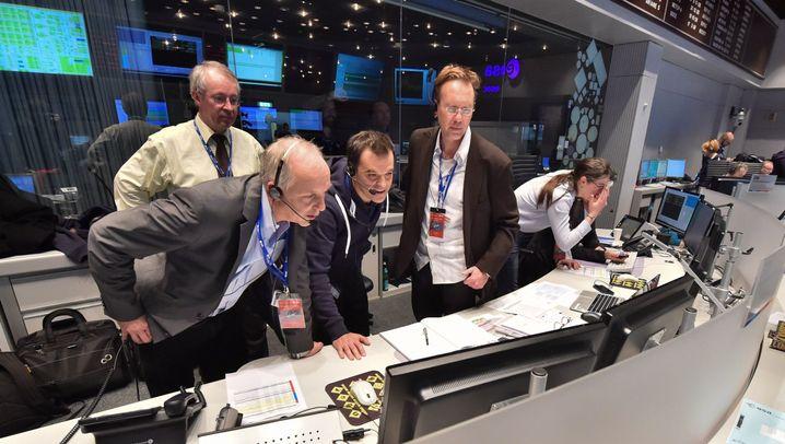 """Sonde """"Philae"""": Landung mit Problemen"""