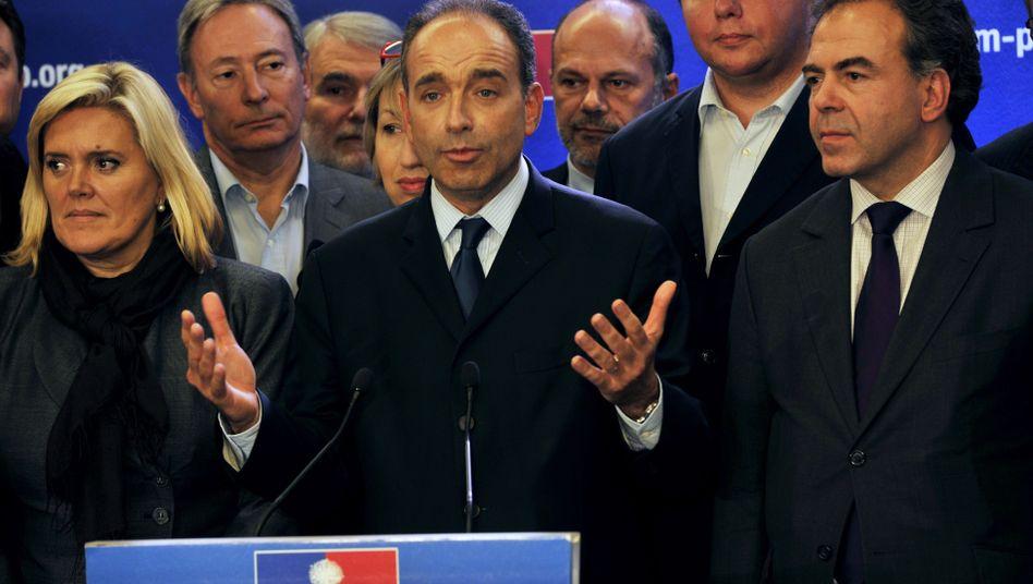 Neuer UMP-Parteichef: Jean-Francois Copé hat die Urwahl knapp gewonnen