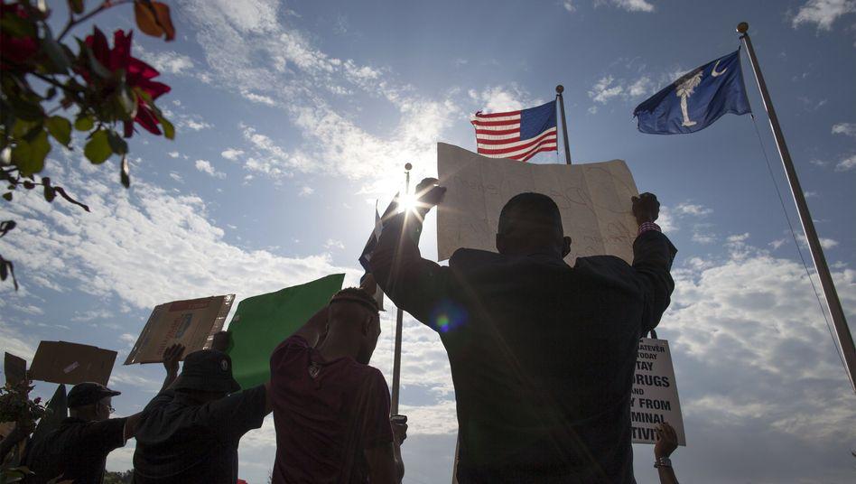 Proteste in North Charleston: Wie viele mehr werden noch erschossen?