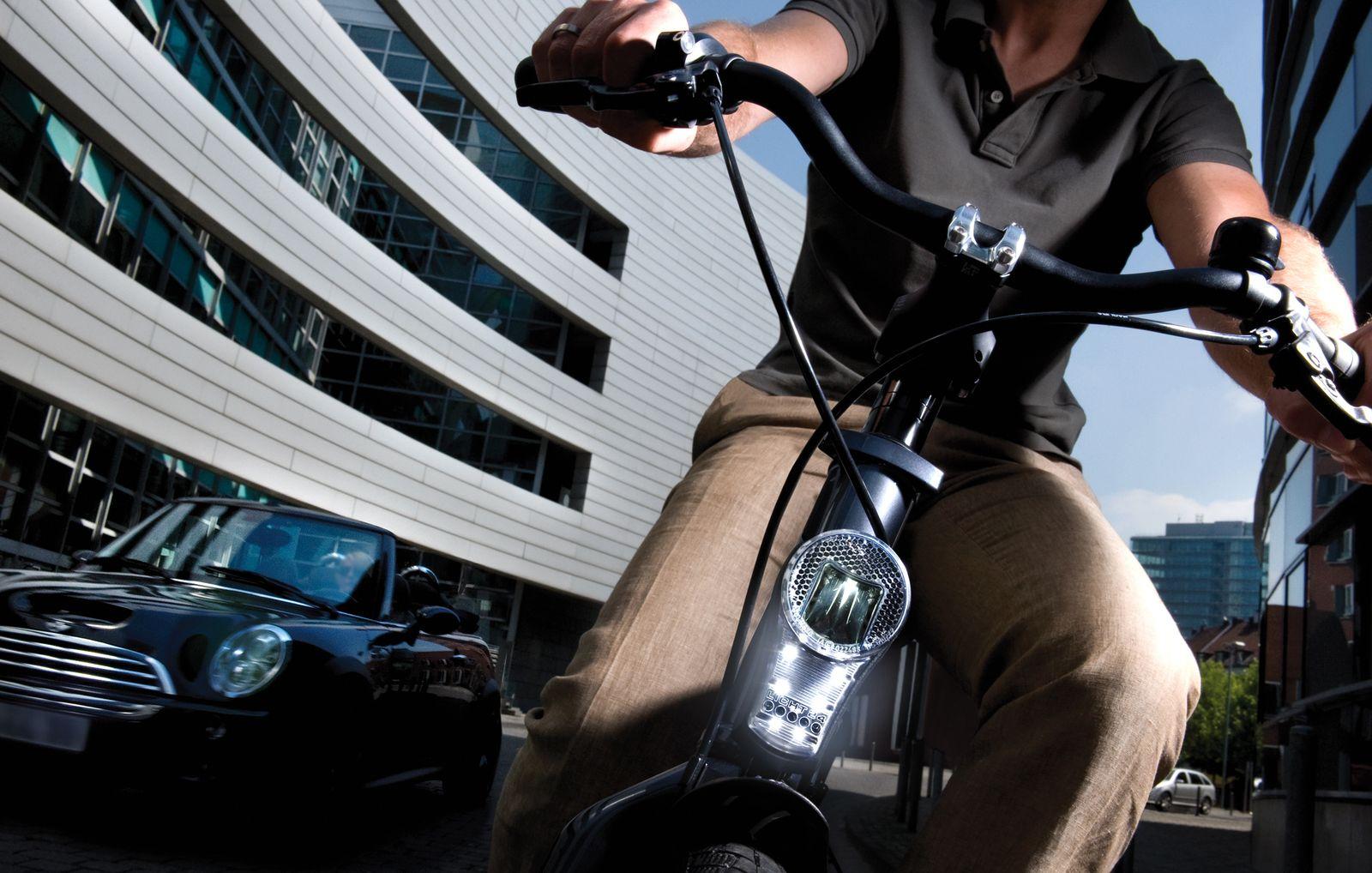 EINMALIGE VERWENDUNG Fahrrad / Auto