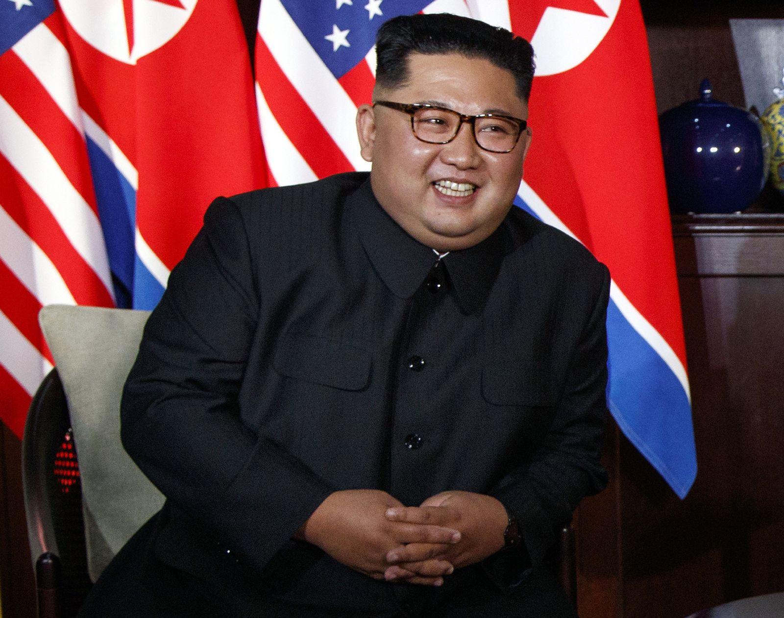 Kims großer Moment