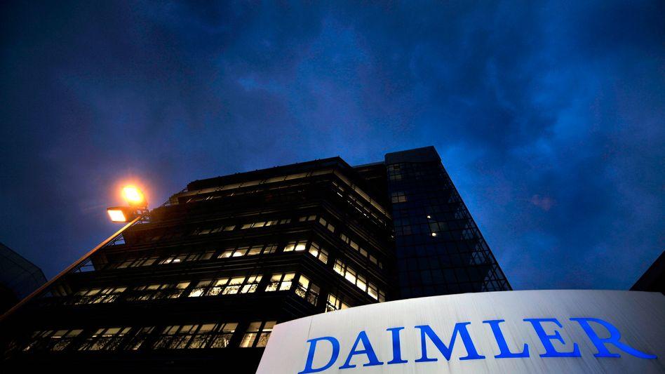 Daimler-Zentrale Untertürkheim: Ausgangspunkt betrügerischer Fahrten?