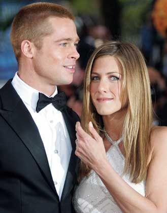 Aniston und Pitt in glücklicheren Tagen: Die Traumehe wird geschieden