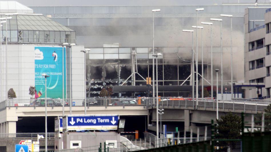 Flughafen in Brüssel